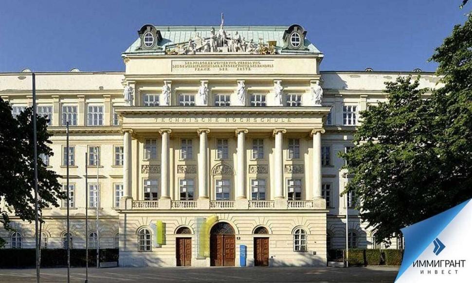Историческое здание Венского технического университета возведено в 1825 году
