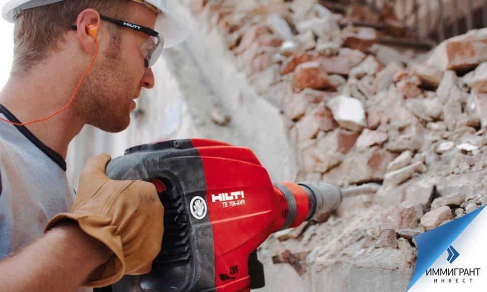 Рассчитывать на работу в Австрии без знания языка могут строители