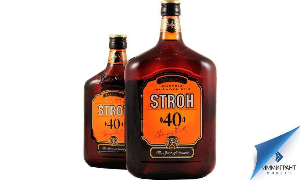 Неразбавленным можно пить напиток крепостью не более 40 %