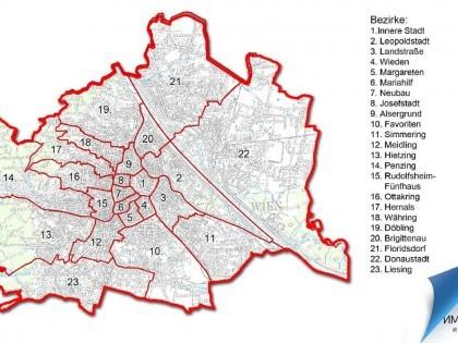 Районы Вены: выбираем где купить недвижимость в Вене