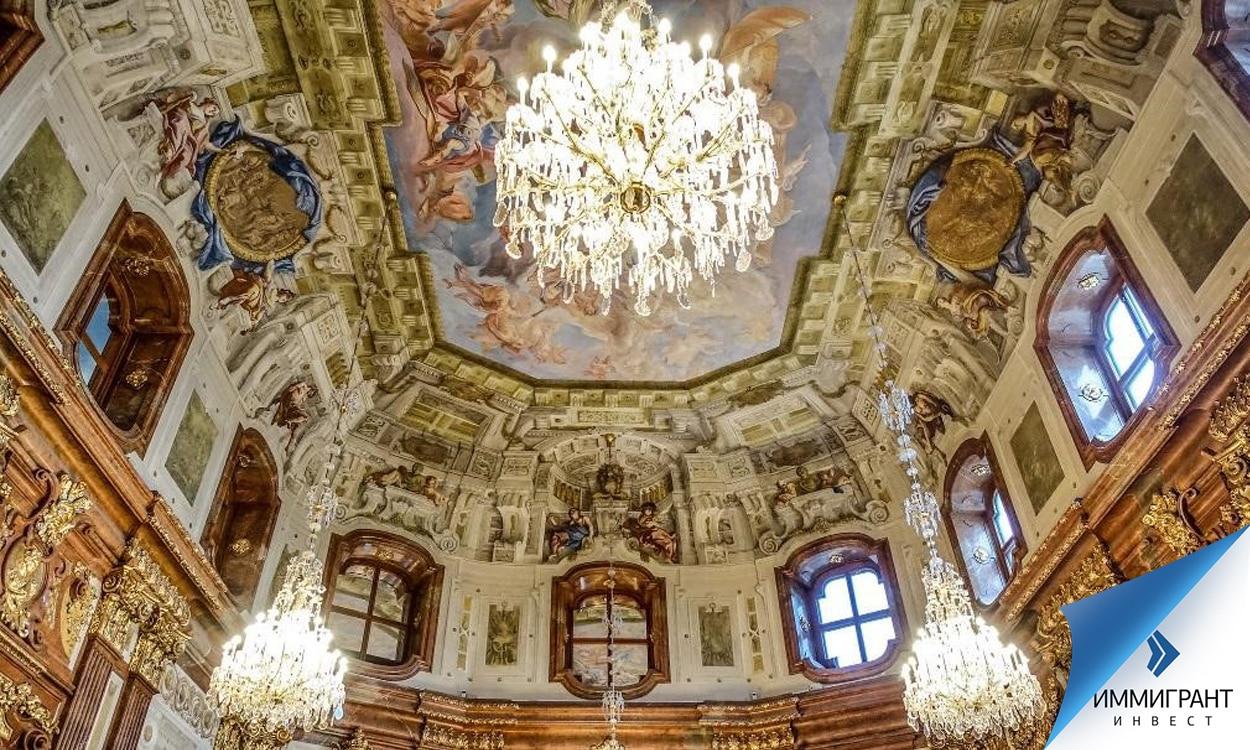 Один из залов Верхнего Бельведера