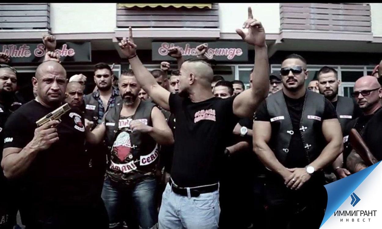 Немецкий боксерский клуб рокеров Osmanen Germania завоевывает Австрию