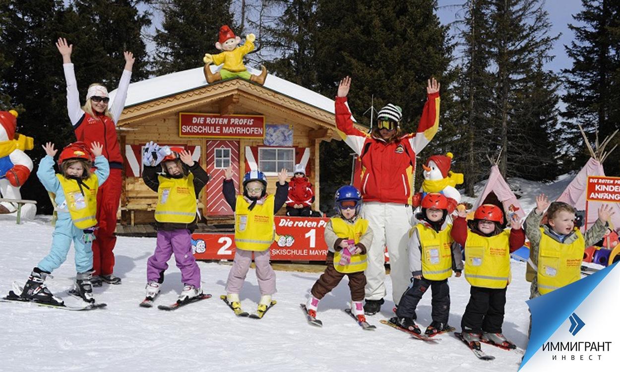 Стоимость уроков катания на лыжах в Австрии не входит в алименты