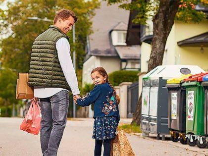 Как сортируют и убирают мусор в Австрии