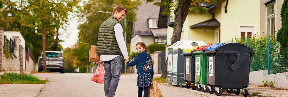 Сортировка и уборка мусора в Австрии