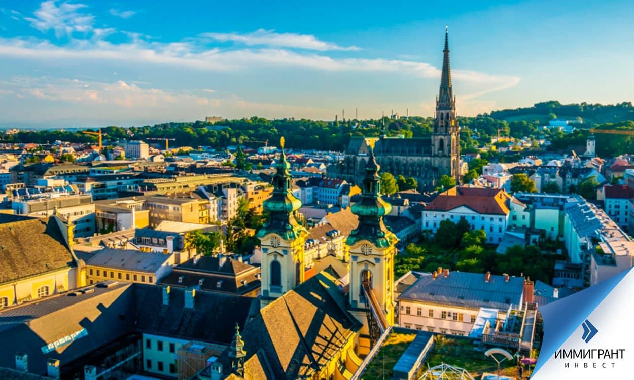 Город в Верхней Австрии