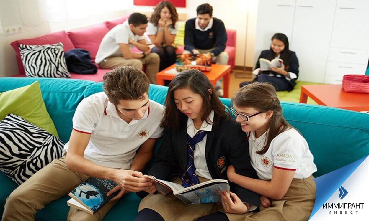 Ученики школы Amadeus